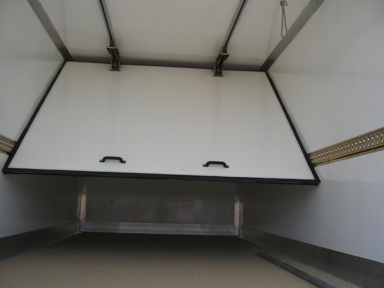 Фото подъемной сдвижной перегородки фургона 2
